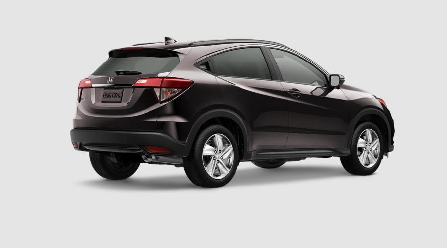 2019 Honda HR-V in Midnight Amethyst Metallic