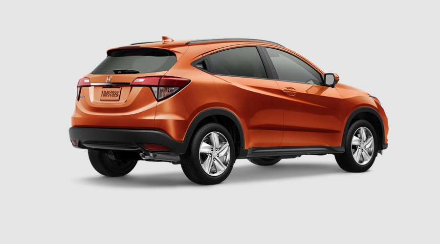 2019 Honda HR-V in Orangeburst Metallic
