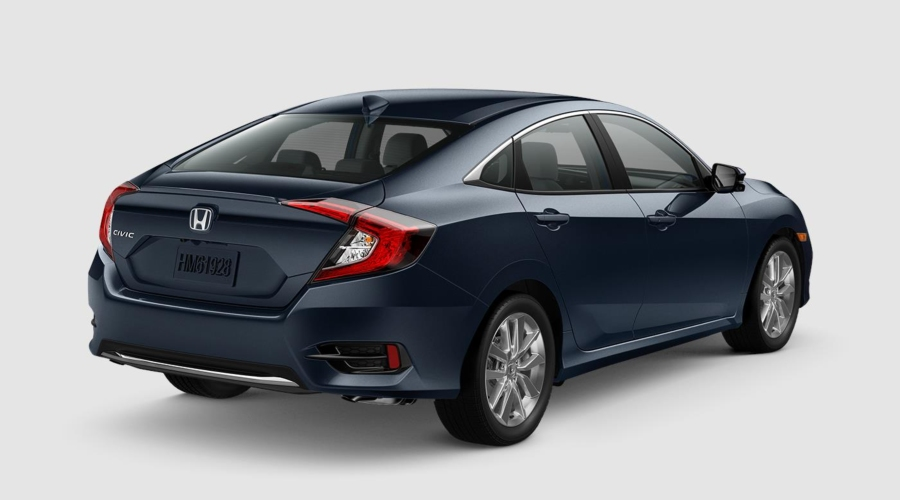 2019 Honda Civic in Cosmic Blue