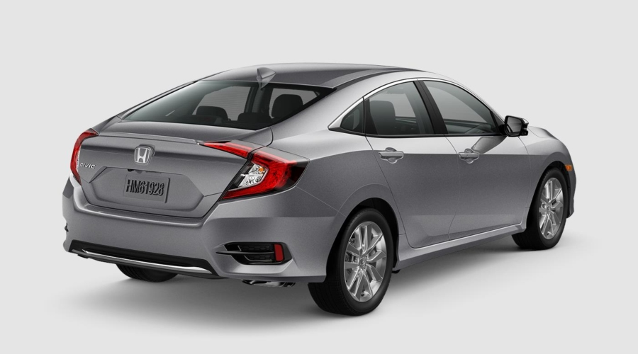 2019 Honda Civic in Lunar Silver
