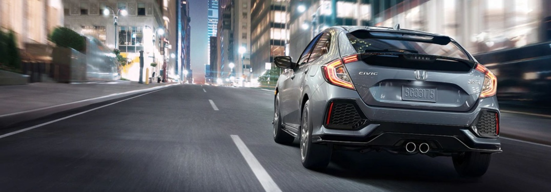Photo Gallery of Exterior Colors Available with New Civic Hatchback