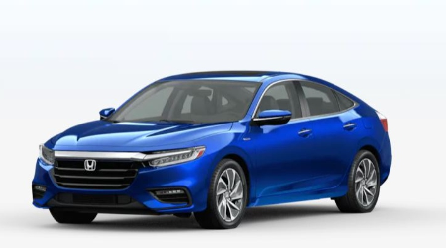2020 Honda Insight in Aegean Blue Metallic