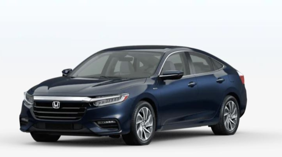 2020 Honda Insight in Cosmic Blue Metallic