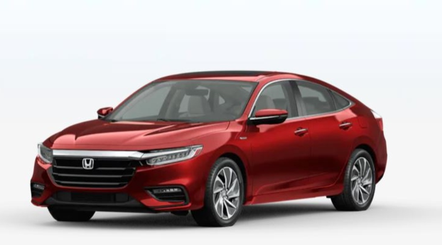 2020 Honda Insight in Crimson Pearl