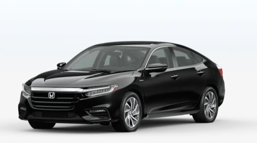 2020 Honda Insight in Crystal Black Pearl