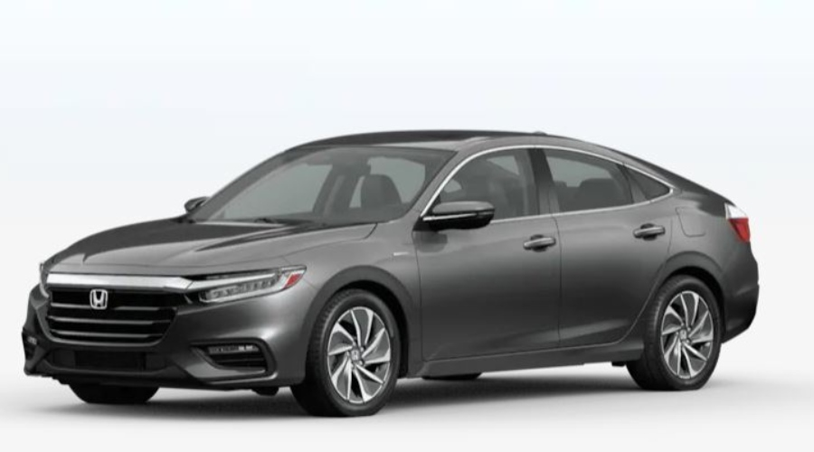 2020 Honda Insight in Modern Steel Metallic
