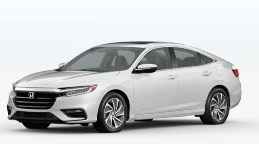 2020 Honda Insight in Platinum White Pearl