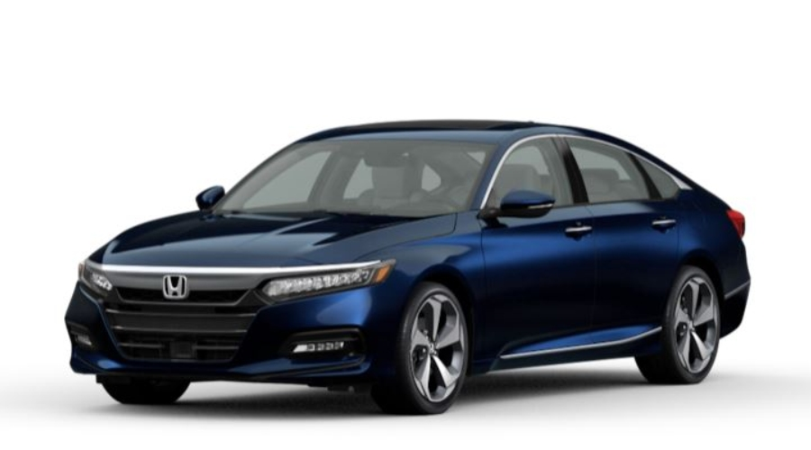 2020 Honda Accord in Obsidian Blue Pearl
