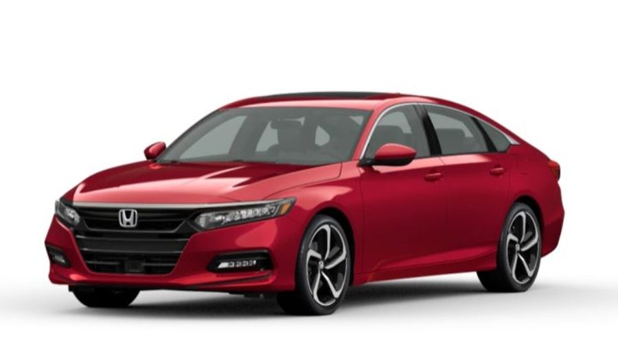2020 Honda Accord in San Marino Red