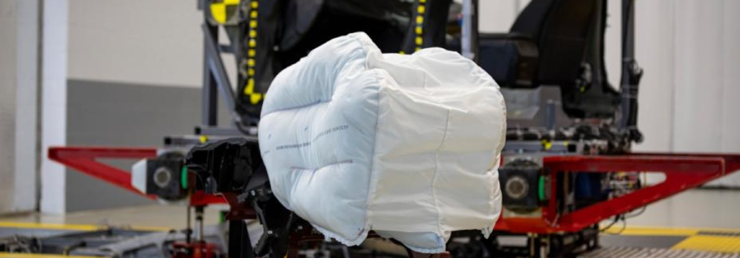 Honda airbag being tested