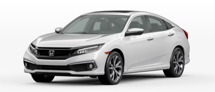 2020 Honda Civic Sedan Platinum White Pearl