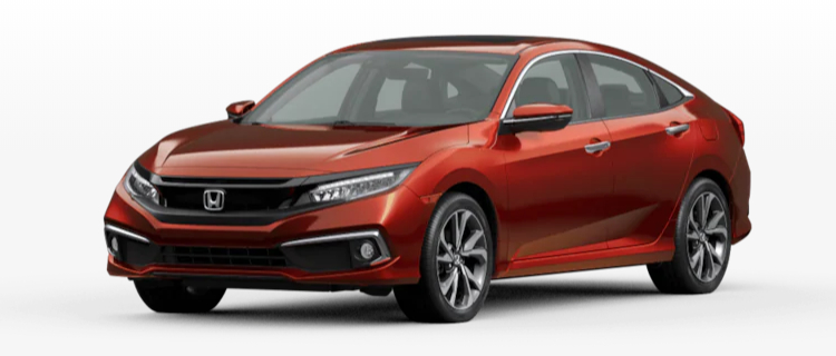 2020 Honda Civic Sedan Molten Lava Pearl