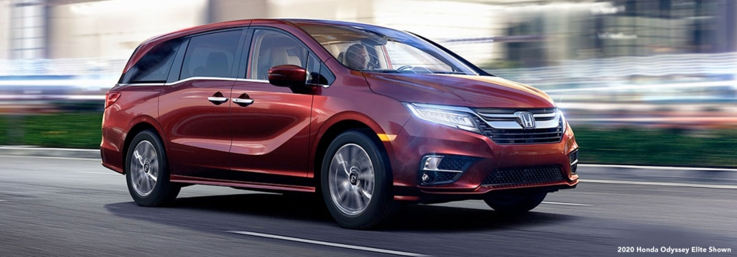Photo Gallery: the 2020 Honda Odyssey Color Options