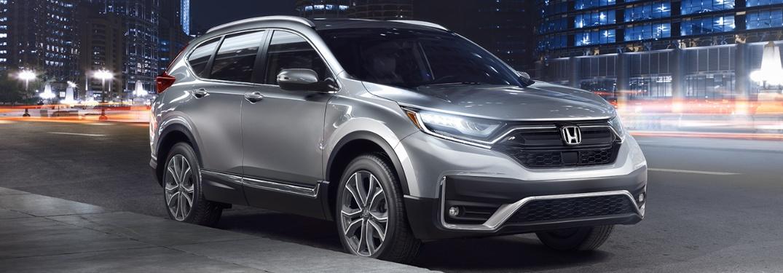 2020 Honda CR-V going down the street
