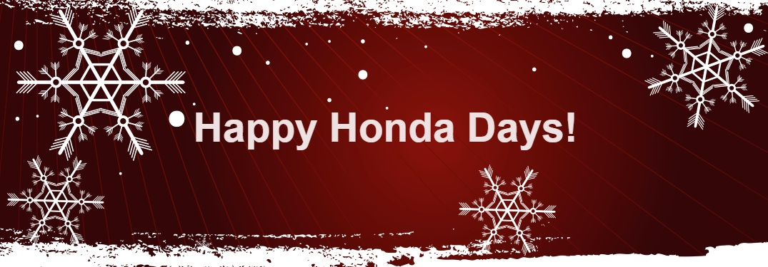 Christmas Sale Happening now at Miller Honda