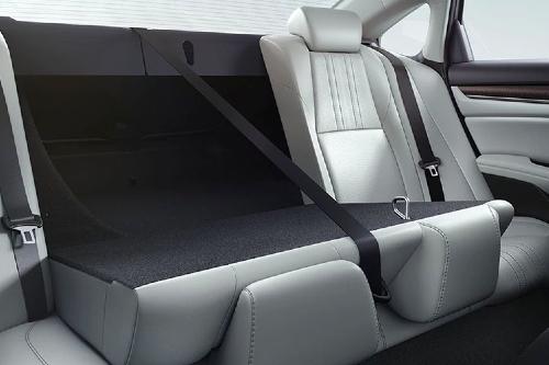 2020 Accord rear fold-down seats