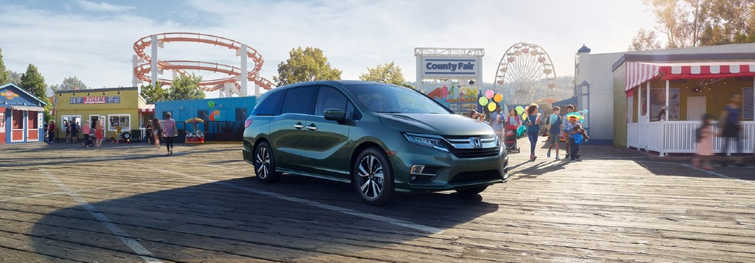How many people can the 2020 Honda Odyssey seat?