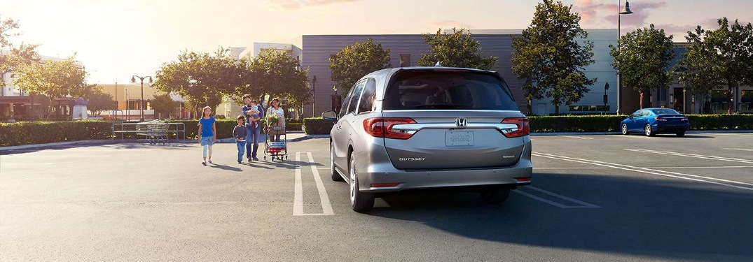 2020 Honda Odyssey safety features