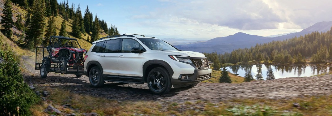 How much can the 2020 Honda Passport tow?