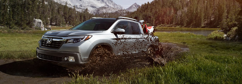2020 Ridgeline driving in mud
