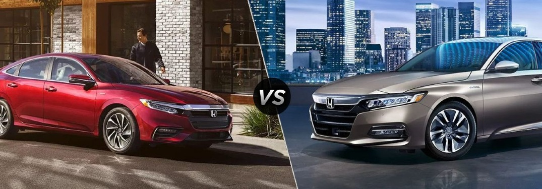 2020 Insight vs 2020 Accord Hybrid