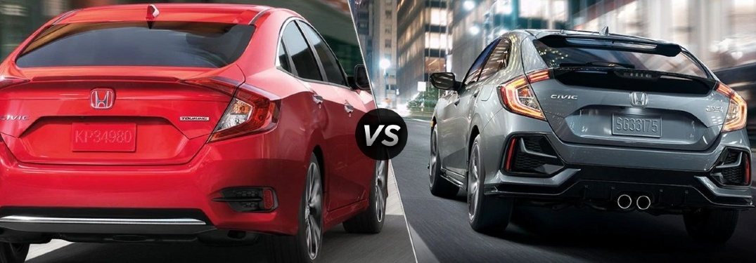 2020 Civic Sedan vs 2020 Civic Hatchback