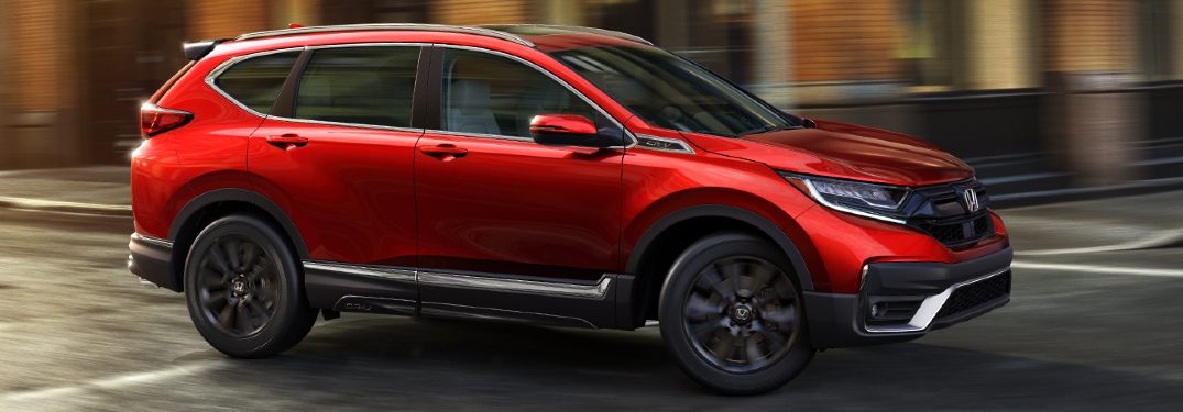 What safety features are standard on the 2020 Honda CR-V?
