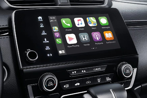 2020 CR-V Apple CarPlay showcase