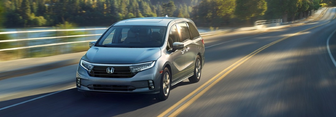 What's new on the 2021 Honda Odyssey?