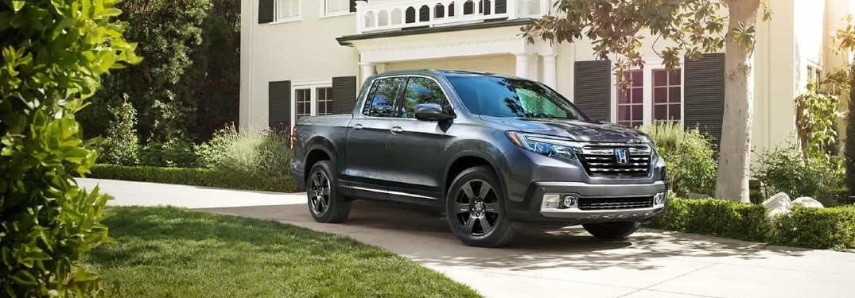 2020 Ridgeline parked in suburban driveway