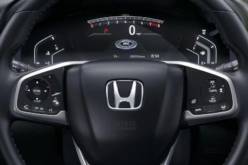 2020 CR-V steering wheel and gauge display