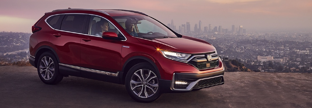 How many MPG does the 2020 Honda CR-V Hybrid get?