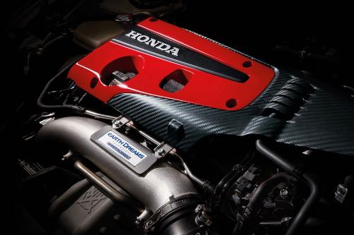 2021 Civic Type R engine showcase