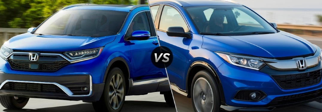 What's the difference between a CR-V and an HR-V?