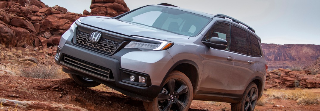 How much cargo space does the 2021 Honda Passport have?