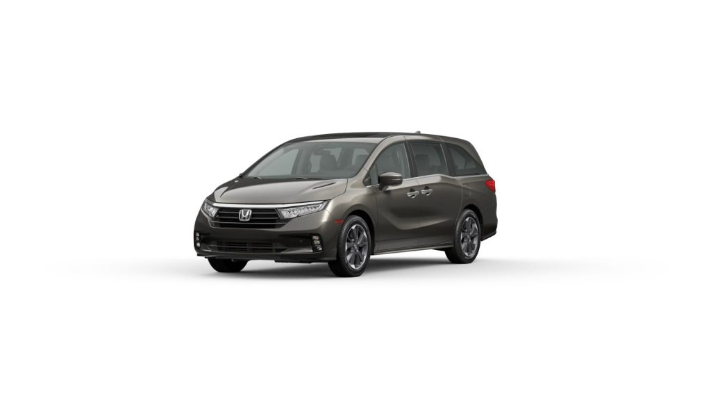2021 Odyssey pacific pewter