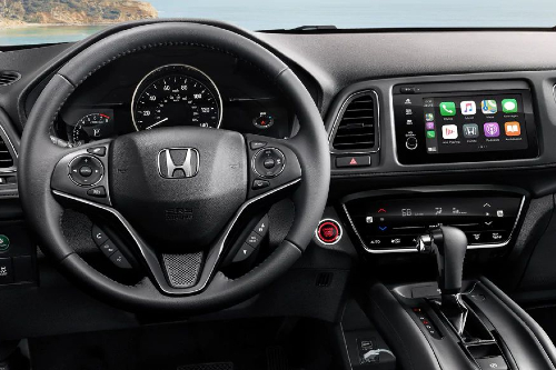 2021 HR-V cockpit showcase