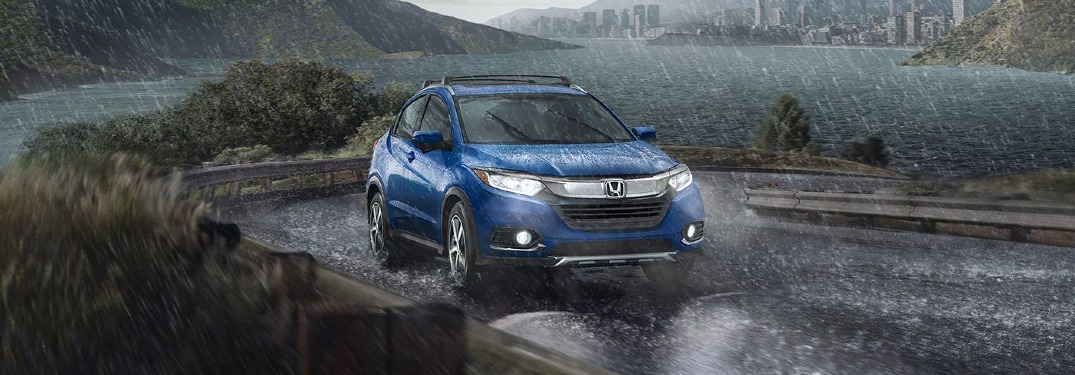 How many MPG does the 2021 Honda HR-V get?