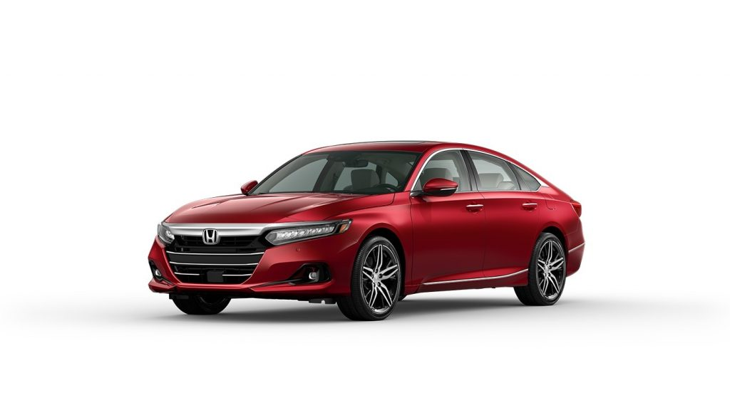 2021 Accord radiant red metallic