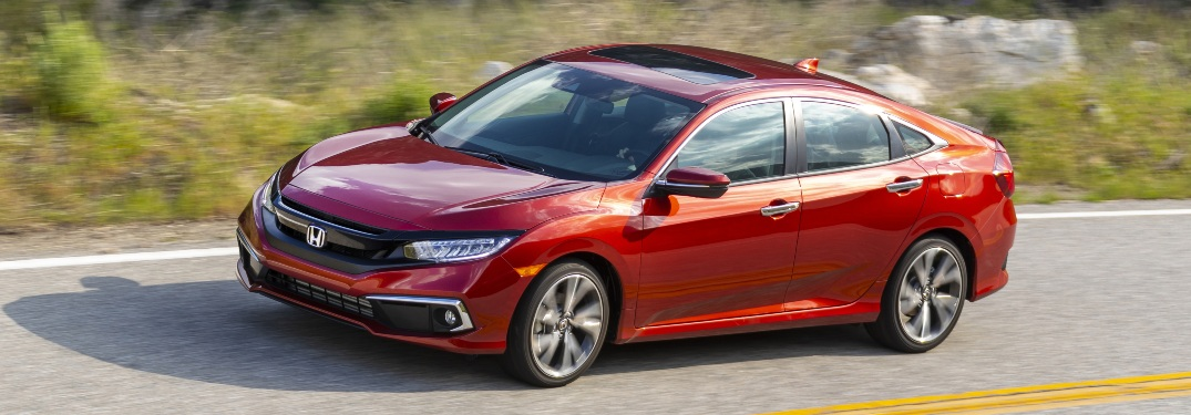 Does the 2021 Honda Civic have a moonroof?