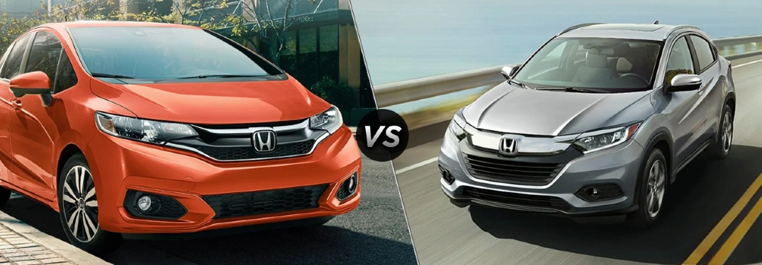 Should I get a Honda Fit or a Honda HR-V?