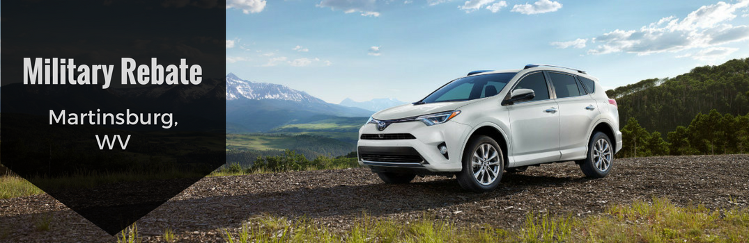 Military Rebate for Toyota Vehicles Martinsburg WV