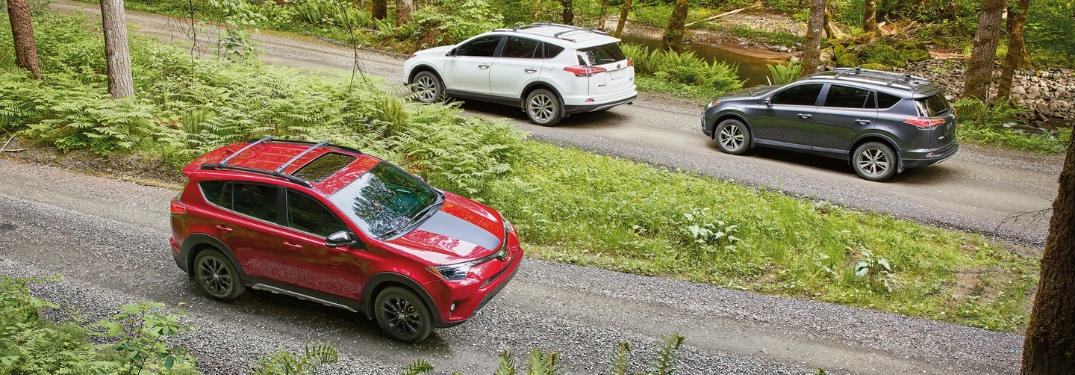 Exterior Color Options for the new RAV4 Hybrid SUV
