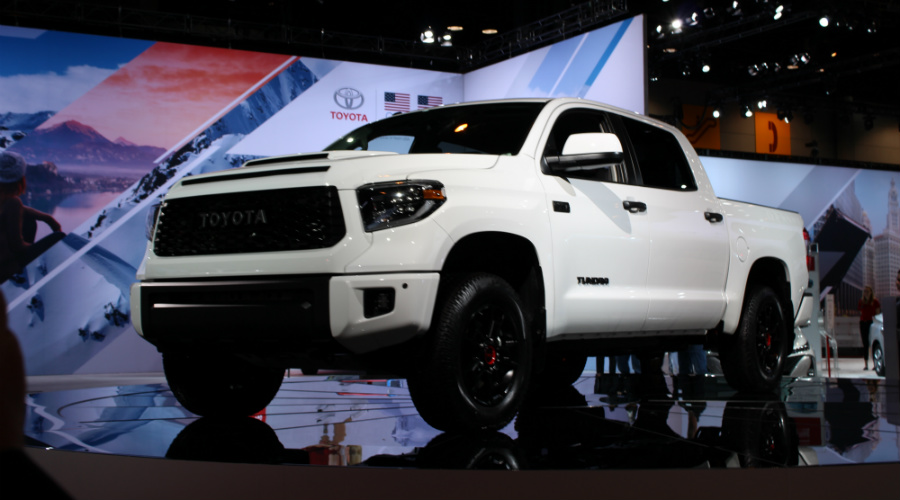 First Images Of The 2019 Toyota Trd Pro Series At Cas 2018 D2 Df
