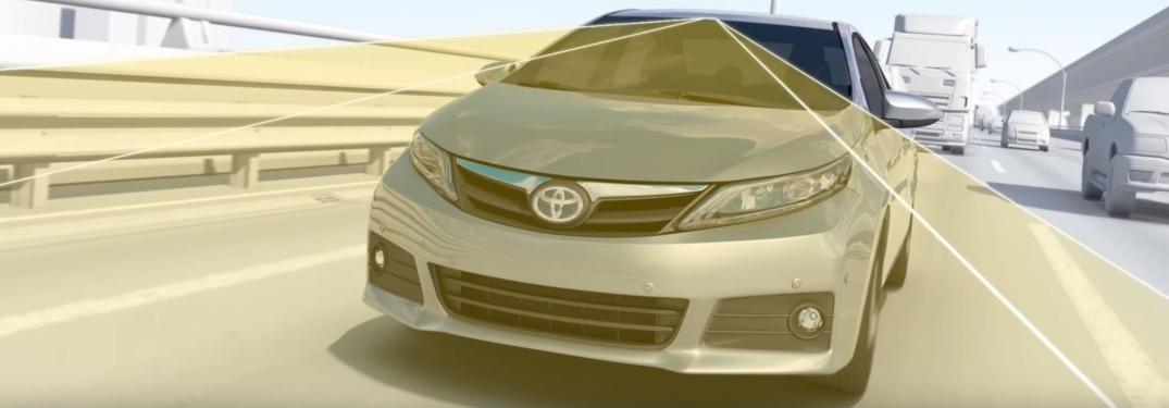 Toyota in-vehicle camera illustration