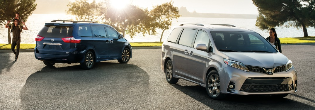 Photo Gallery of Exterior Colors Available with New Toyota Minivan