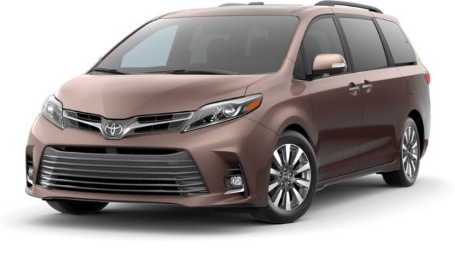 2019 Toyota Sienna in Toasted Walnut Pearl