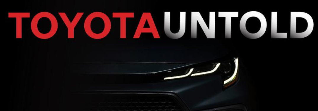 Toyota Untold logo for new podcast
