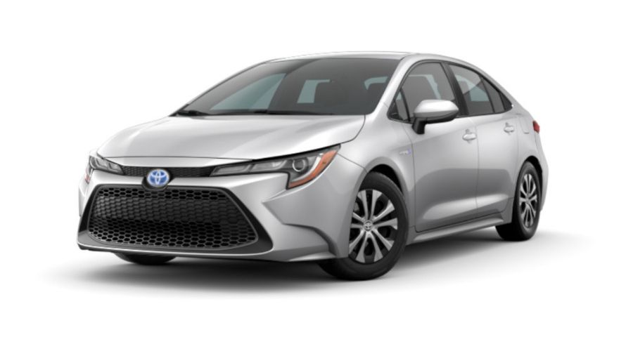 Color Options For The 2020 Toyota Corolla Hybrid