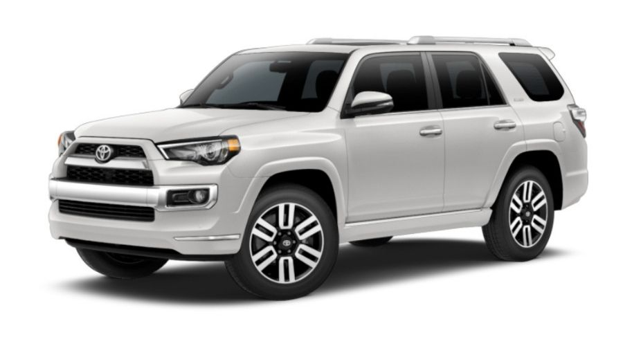 color options for the 2019 toyota 4runner